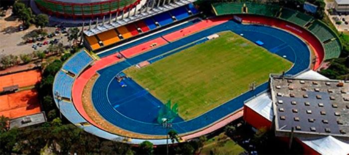 Estádio do Ibirapuera em Moema