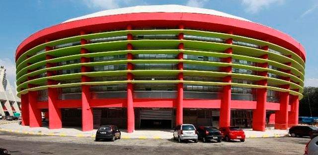 Ginásio do Ibirapuera em Moema