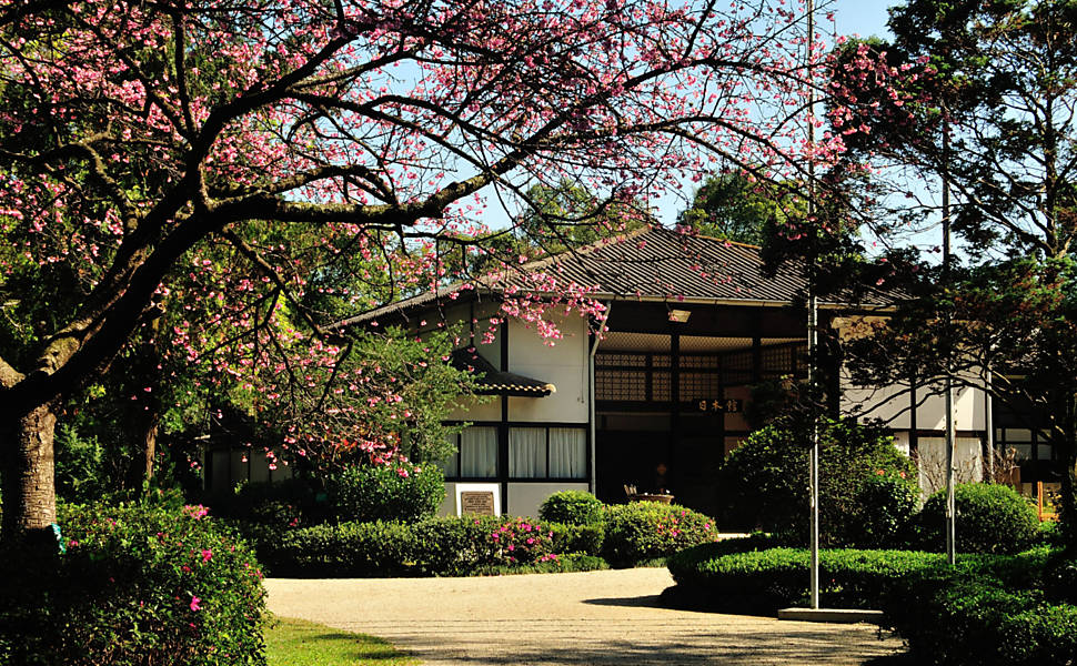 Pavilhão Japonês no Ibirapuera